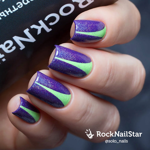 RockNailStar vinyl stencils and stickers - Stiletto