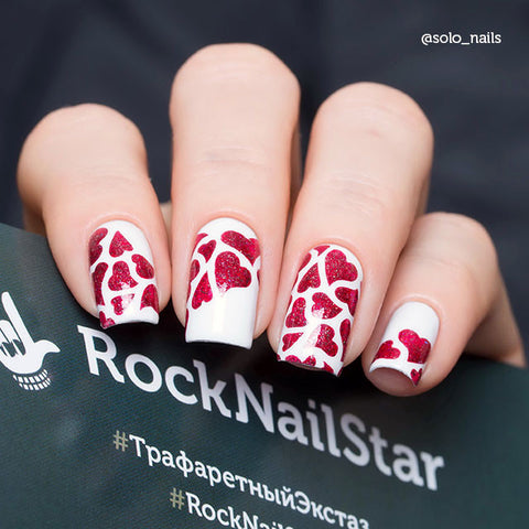 RockNailStar vinyl stencils and stickers - Princess