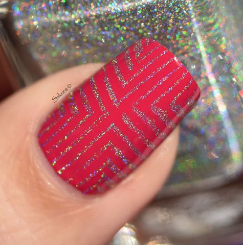 Colors by Llarowe - Stamping Polish - Sparkling Diamonds