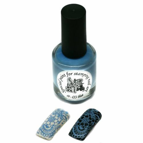 Kaleidoscope by El Corazon - Stamping Polish - Stm-03 Light Blue