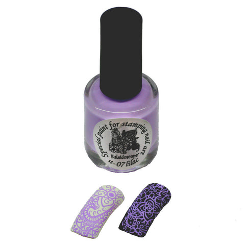 Kaleidoscope by El Corazon - Stamping Polish - Stm-07 Lilac