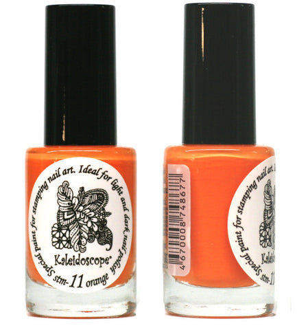 Kaleidoscope by El Corazon - Stamping Polish - Stm-11 Orange