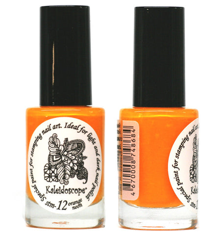 Kaleidoscope by El Corazon - Stamping Polish - Stm-12 Orange Neon