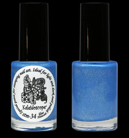 Kaleidoscope by El Corazon - Stamping Polish - Stm-34 Blue Hawaii