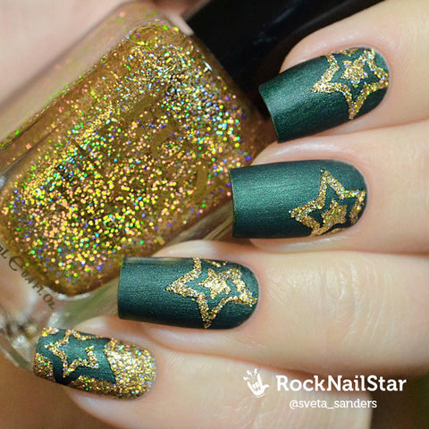 RockNailStar vinyl stencils and stickers - Swirls