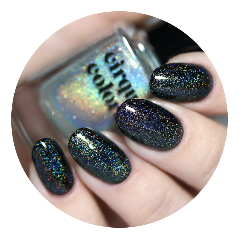 Cirque Colors - We Trippy Holographic Top Coat