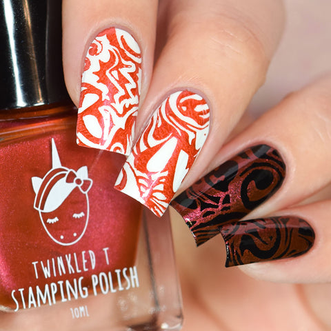 Twinkled T - stamping polish - Swerve