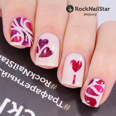 RockNailStar vinyl stencils and stickers - Lakodom
