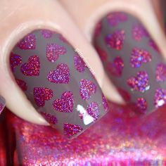 Colors by Llarowe - Stamping Polish - The Heart Bleeds