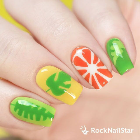 RockNailStar vinyl stencils and stickers - Tropics