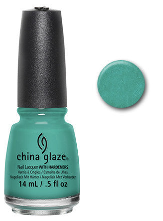 China Glaze - Core - Turned Up Turquoise