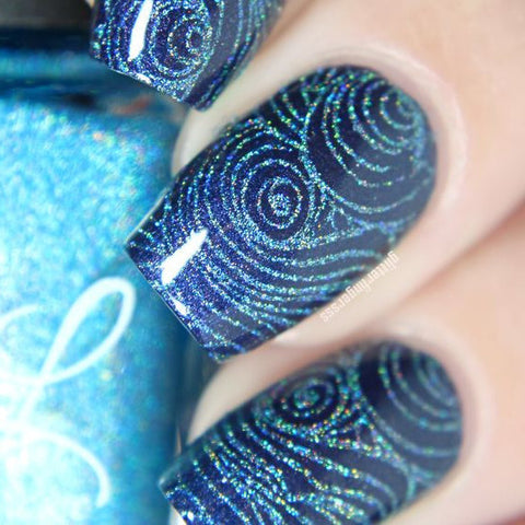 Colors by Llarowe - Stamping Polish - Turq'D