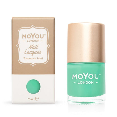 MoYou London Stamping Polish - Turquoise Mint