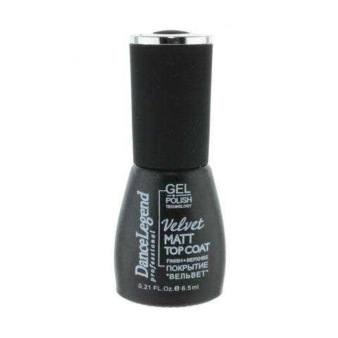 Dance Legend Gel Polish - Velvet Matt Top Coat (mini)