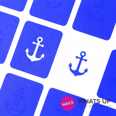 Whats Up Nails - Anchor Stickers & Stencils