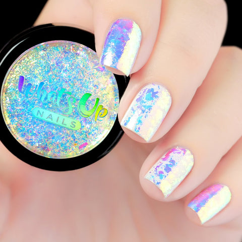 Whats Up Nails - Aurora Supreme Flakies