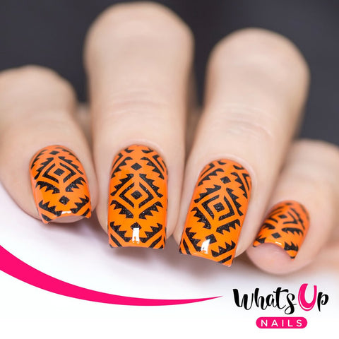 Whats Up Nails - Aztec Stencils