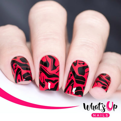 Whats Up Nails - B006 A Lá Mode stamping plate