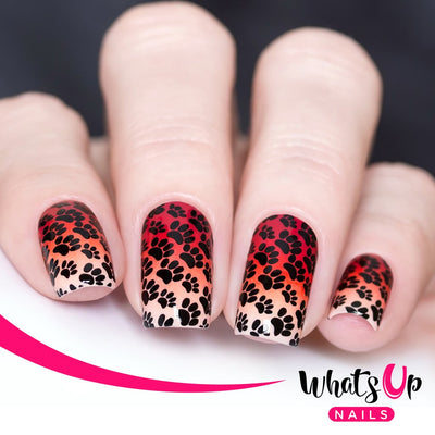 Whats Up Nails - B025 Animalistic Nature stamping plate