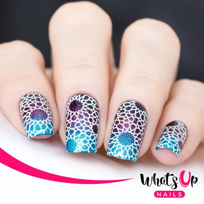 Whats Up Nails - B039 Geometric Trance Stamping Plate