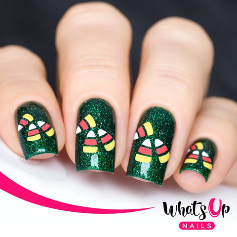 Whats Up Nails - Candy Corn Stencils