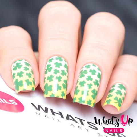 Whats Up Nails - Clover Field Stickers & Stencils