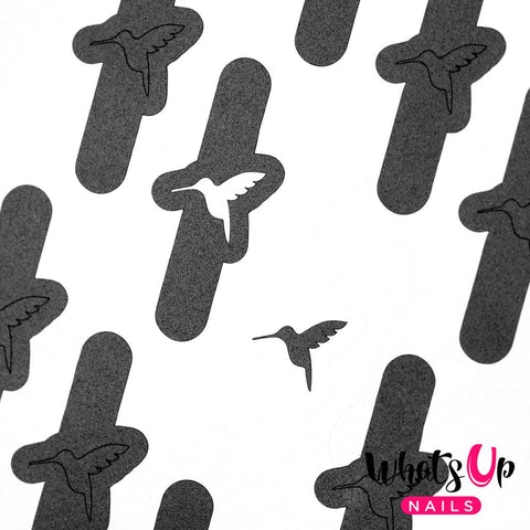 Whats Up Nails - Colibri Stickers & Stencils