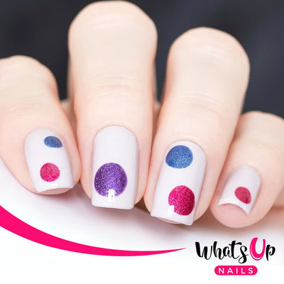 Whats Up Nails - Dots Stencils