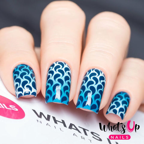 Whats Up Nails - Droplets Stickers & Stencils