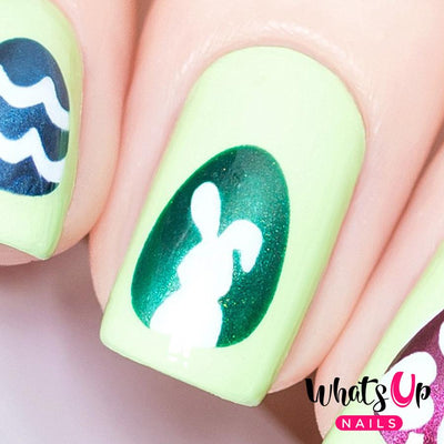 Whats Up Nails - Egg-stra Special Stencils