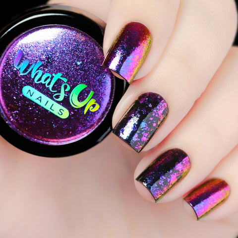 Whats Up Nails - Galaxy Flakies