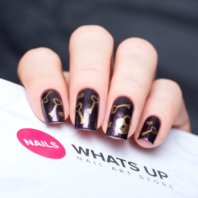 Whats Up Nails - Key & Lock Stickers & Stencils