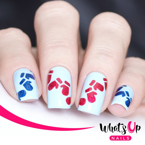 Whats Up Nails - Mittens Stencils