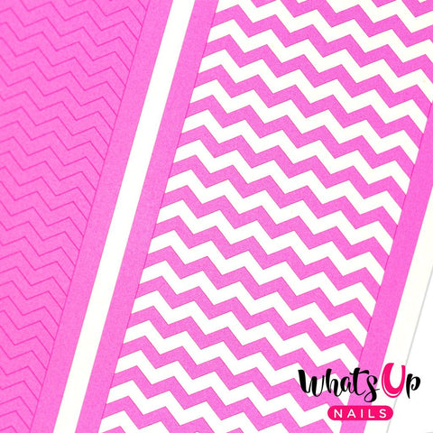 Whats Up Nails - Regular Zig Zag Tape