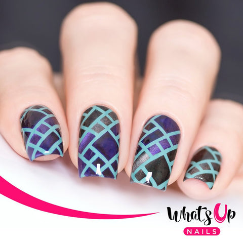 Whats Up Nails - Stained Glass Stencils