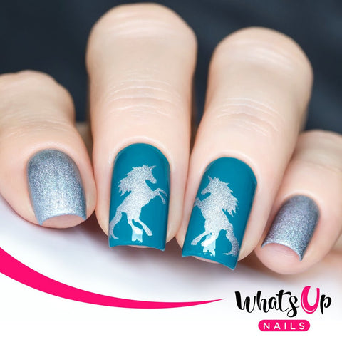 Whats Up Nails - Unicorn Stencils