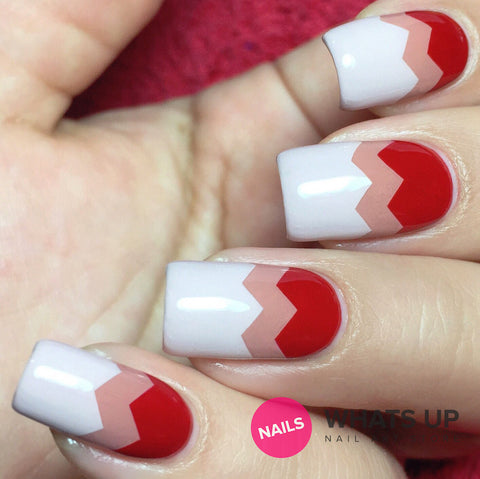 Whats Up Nails - Wide Zig Zag Tape