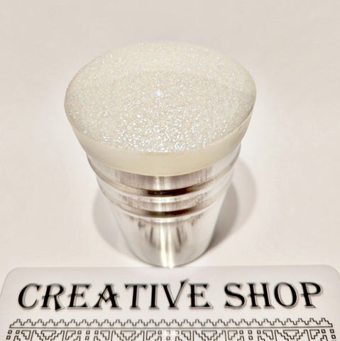 Creative Shop Space Collection stamper and scraper - Light Side - White/Blue