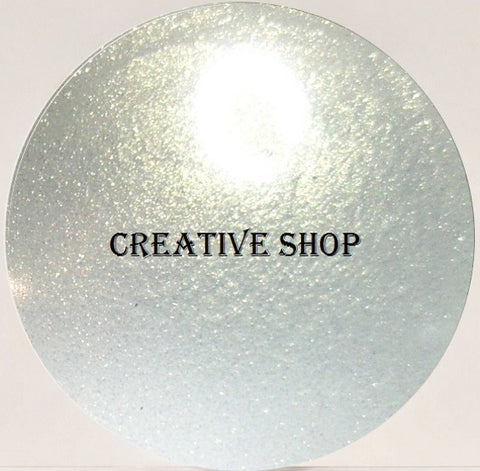 Creative Shop Space Collection replacement stamper head - White/Gold