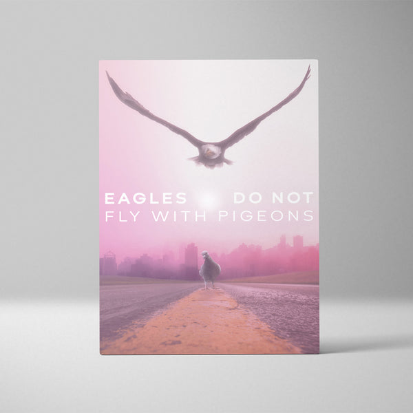 Eagles Do Not Fly With Pigeons II