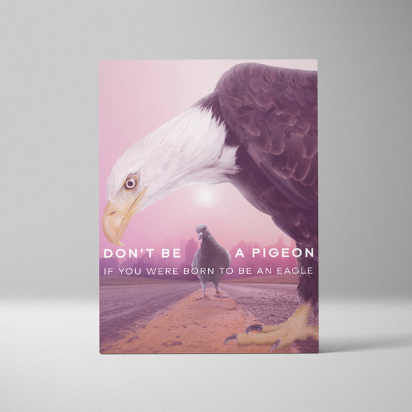 Don't Be a Pigeon If You Were Born To Be An Eagle II