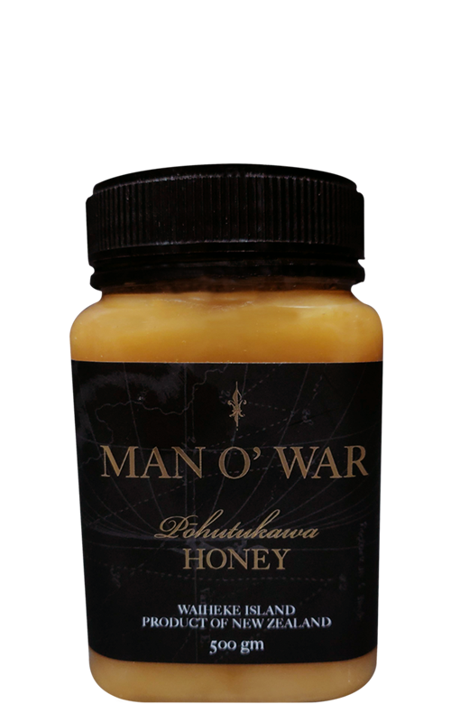 Man O' War Pohutukawa Honey (500g Pot)