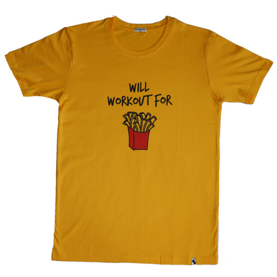 Workout For Fries Tee