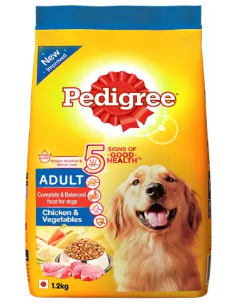 Pedigree Chicken & Vegetable Adult Dog Food