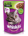Whiskas Lamb Gravy Wet Food (Adult)