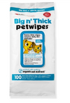Petkin Big N Thick Wipes Pack of 100