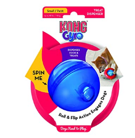 KONG Gyro Small Interactive Toy for Dogs and Puppies