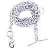 Dog Chain Silver (L - 60inch) for Large Dogs