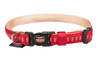 Trixe Softline Elegance collar - one size RED COLOR