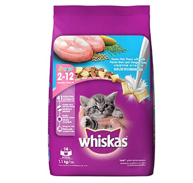 Whiskas - Dry Cat Food - Ocean Fish (Kitten)